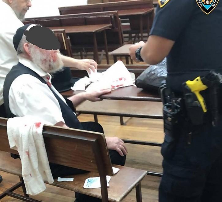 אחד היהודים שהותקפו