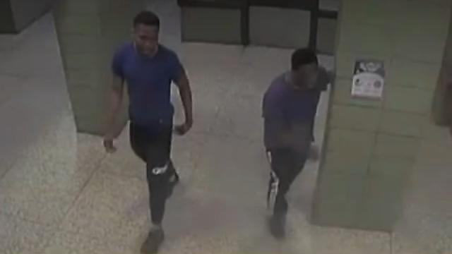 שניים מהחשודים בתקיפה ()