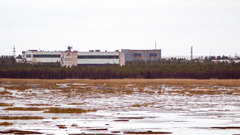 המתקן ליד סברודבינסק שבו אירע האסון הגרעיני המסתורי (צילום: AFP)