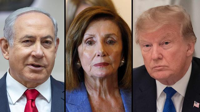 Netanyahu, Polosi and Trump (Photo: AFP, Reuters, Emil Selman)