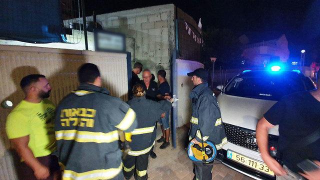 Police in Sderot (Photo: Roee Idan)