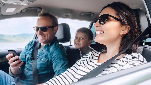 נסיעה משפחתית (צילום: shutterstock)