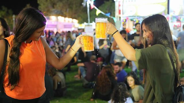 פסטיבל הבירה בירושלים (צילום: עידו ניתאי)