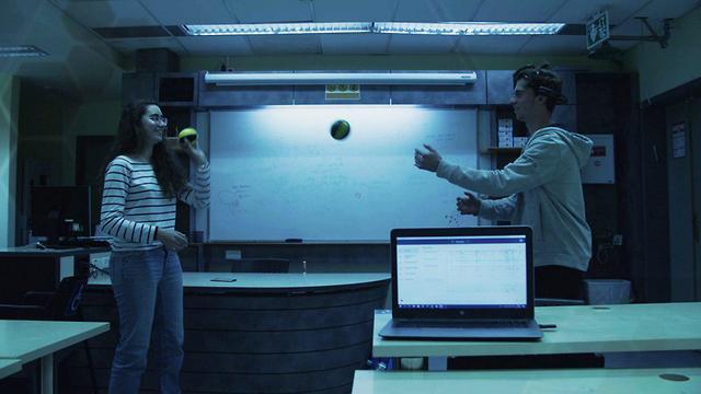 תלמידים במכון דוידסון לחינוך מדעי (באדיבות מכון דוידסון לחינוך מדעי)
