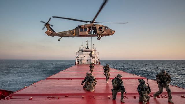 "Joint U.S. Israel naval drill ""Naval Rose"" (Photo: IDF Spokesman's Unit)"
