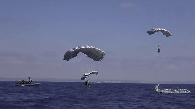 "Naval Rose"" joint U.S. Israeli drill (Photo: IDF Spokesman's Unit)"""