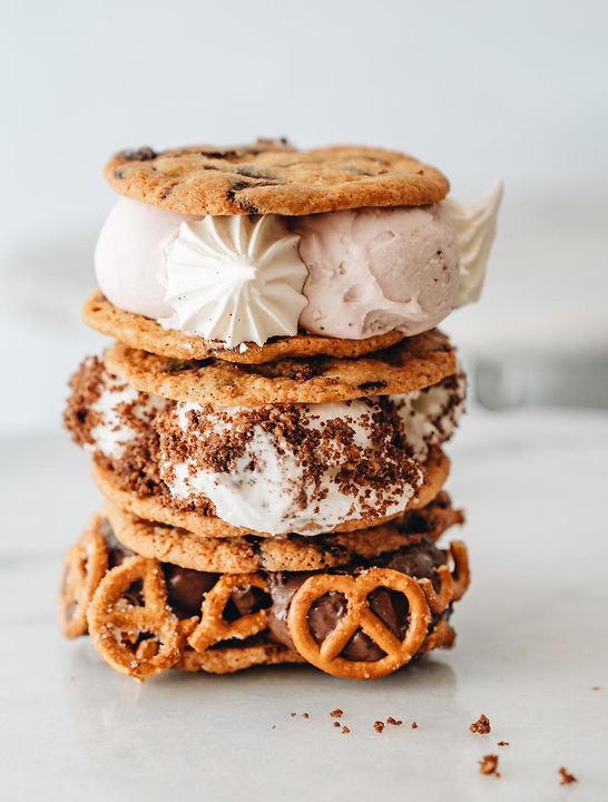 Ice cream sandwich at Stefan Gelato (Photo: Buzzy Gordon)