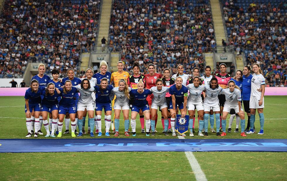 צ'לסי נבחרת נשים כדורגל נשים (צילום: אורן אהרוני)