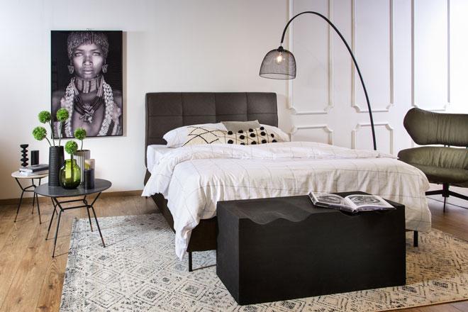 חדר שינה של ''ביתילי''. צילום: דרור קאליש