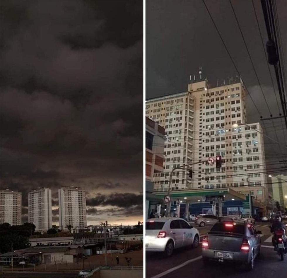 ברזיל שריפות סאו פאולו (צילום: רויטרס)