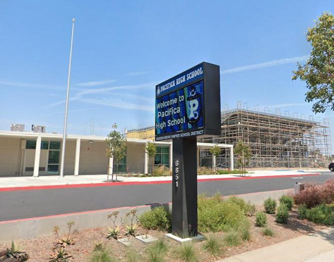 Garden Grove High School in California