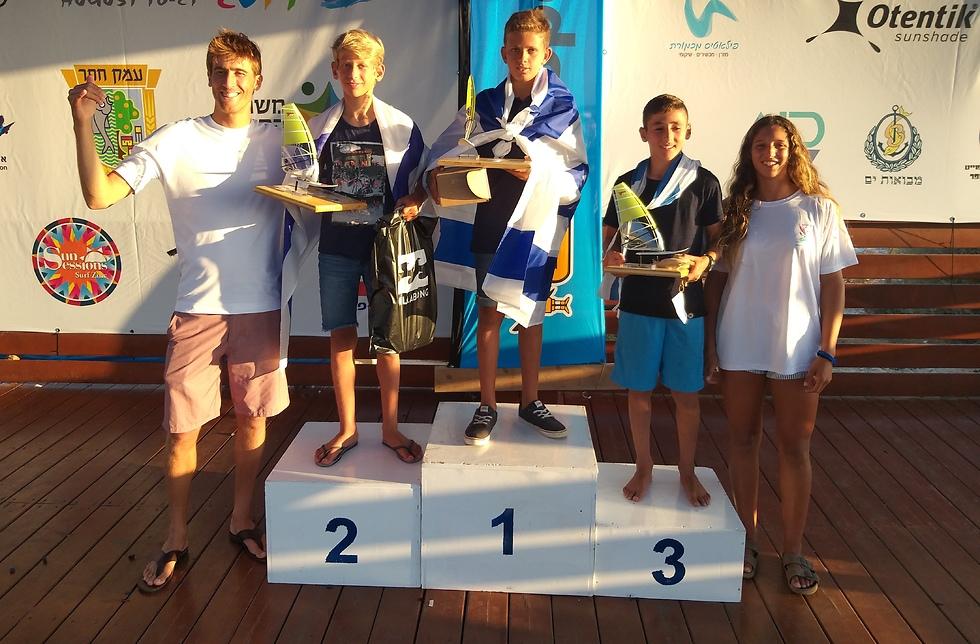 Награждение победителей. Фото: федерация парусного спорта