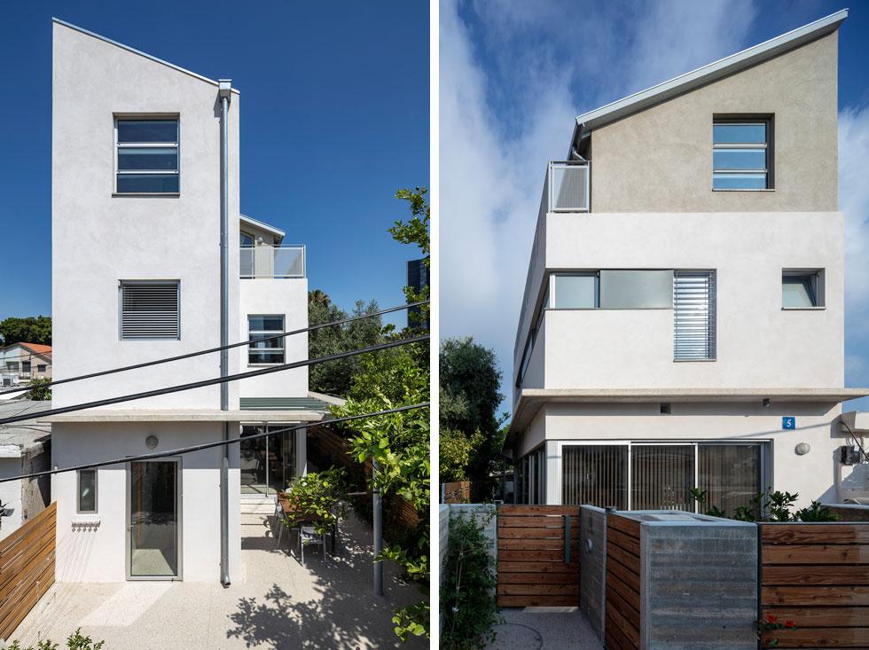 מה עושים עם מגרש של 20 על 7.5 מטרים? בונים בית צר וגבוה במיוחד. תכנון: צח רונן. לחצו כדי לסייר בין הקומות בבית (צילום: עוזי פורת)
