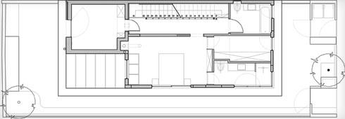תוכנית הקומה הראשונה (תוכנית: אדריכל צח רונן)