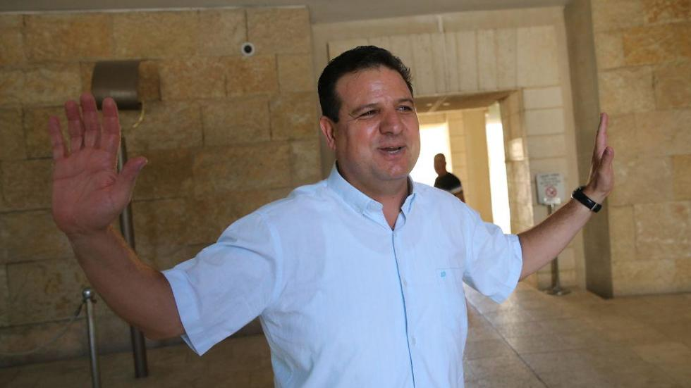 Joint List leader Ayman Odeh (Photo: Alex Kolomoisky)