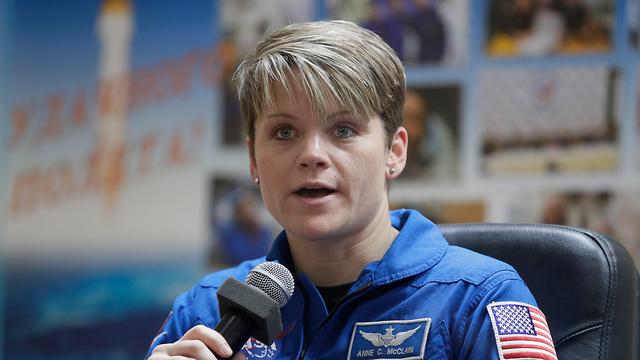 אסטרונאוטית אן מקליין (צילום: AP)