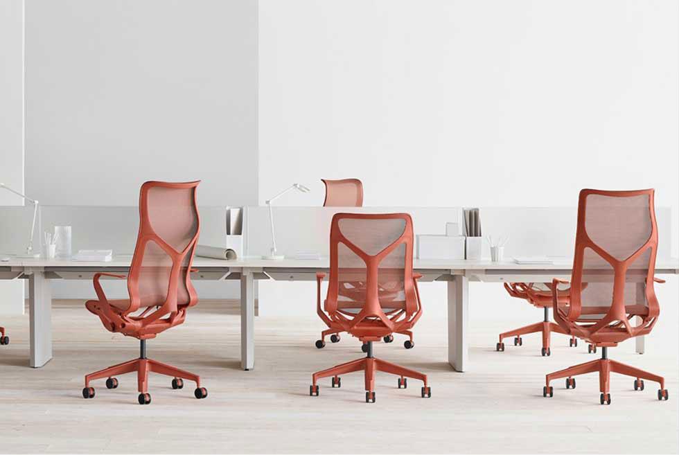 הכיסא הושק לראשונה בתערוכת הרהיטים במילאנו 2018, ומאז הספיק לזכות את מעצביו בפרסים בינלאומיים נחשבים ביותר (צילום: Herman  Miller)