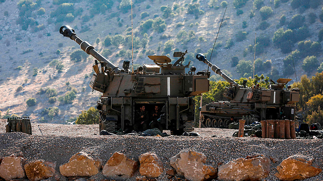 IDF forces on the border with Syria (Photo: AFP)