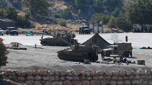 IDF troops on the Golan Heights border with Syria (Photo: EPA)