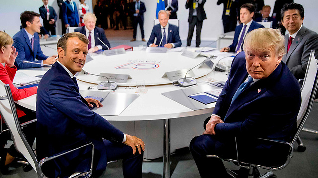 ועידת G7 נשיא ארה