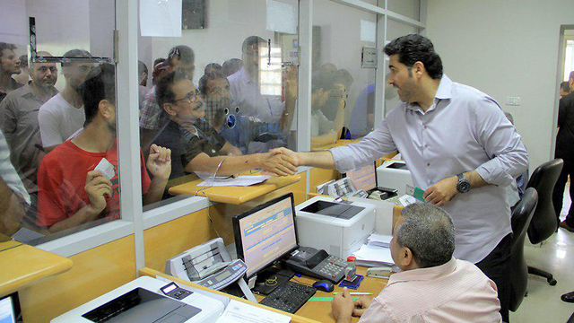 Qatari aid money distribution in Gaza