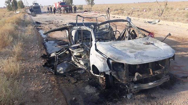 Последствие удара по иранским объектам в Ираке