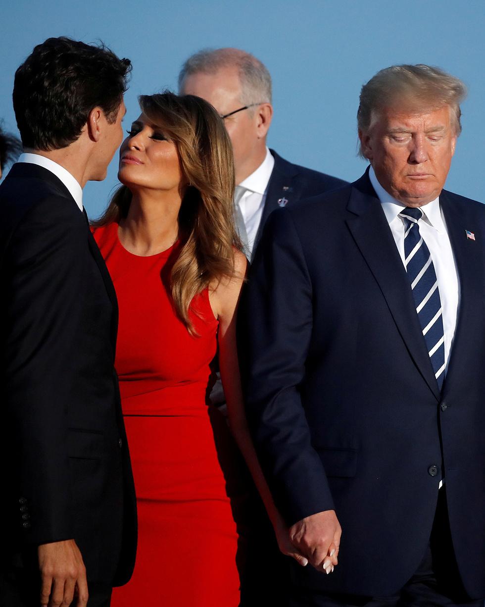 ועידה G7 צרפת (צילום: רויטרס)