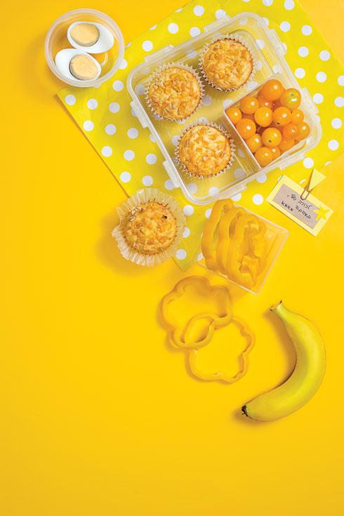 ארוחת בוקר צהובה (צילום: אסף אמברם, סגנון: טליה הדר)