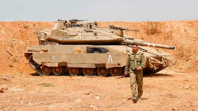 טנק מרכבה צה