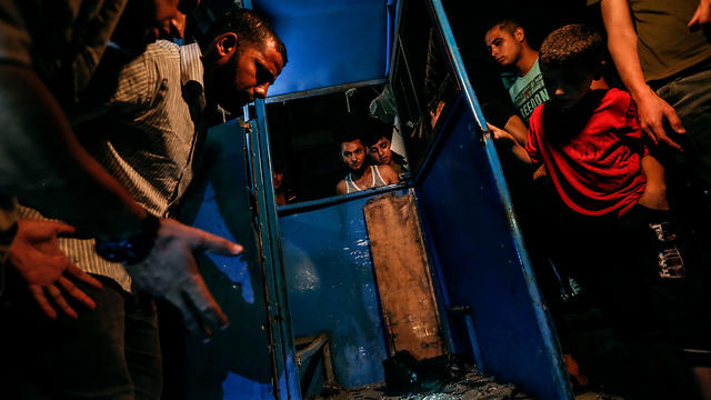 На месте одного из взрывов. Фото: AFP