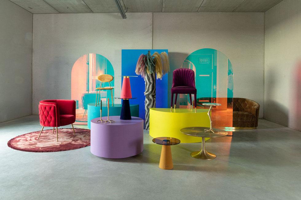 קולקציה עגולת קווים של ''אינוביישן''. אין צורך להחליף את כל הרהיטים: למגמה העגלגלה אפשר לתת ביטוי באמצעות פריט גדול ייחודי אחד, כמו כורסה או ספה, או באמצעות פריטים קטנים ומשלימים, כמו שטיח, מנורה או שולחן צד