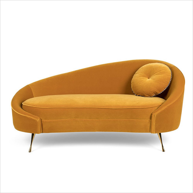 ספה שקורצת לשנות ה-60. ''אינוביישן''