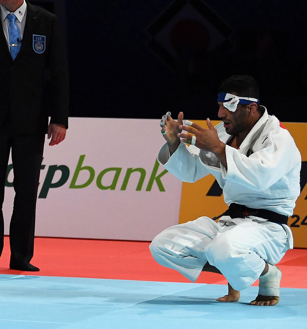 סעיד מולאי מאוכזב (צילום: AFP)