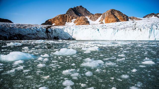 קרחון אפוסיאג'יק (צילום: AFP)