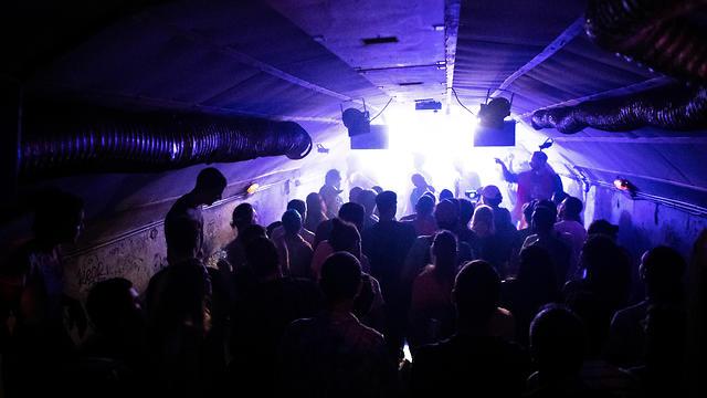 People party at the Mazkeka art center, Jerusalem (Photo: Reuters)