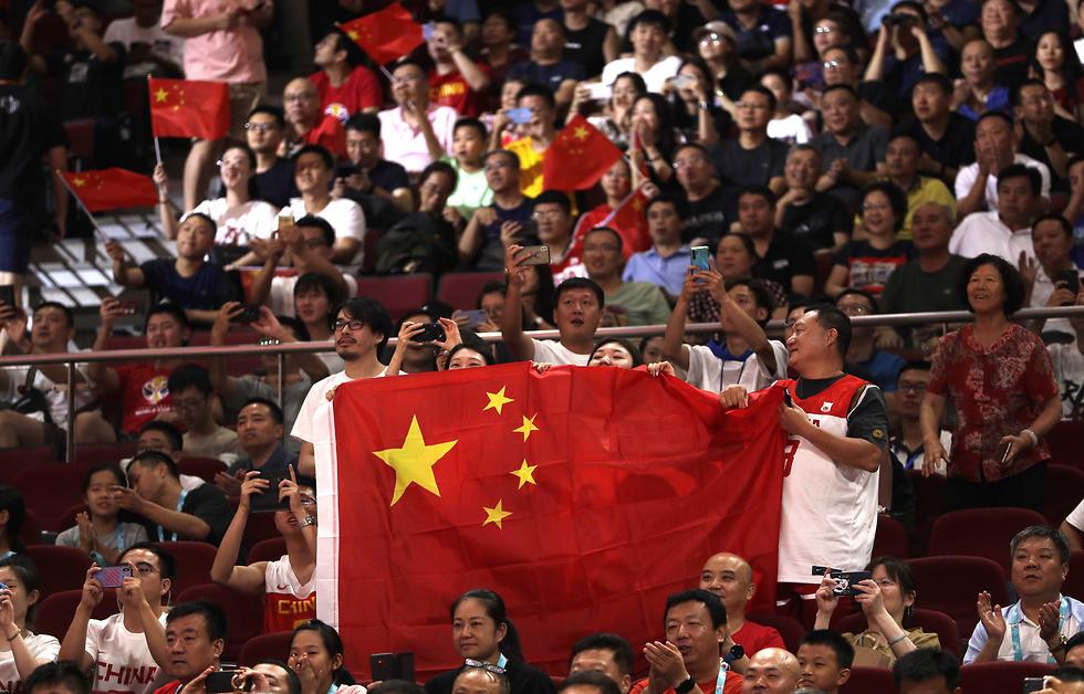 סין מול חוף השנהב  (צילום: AP )