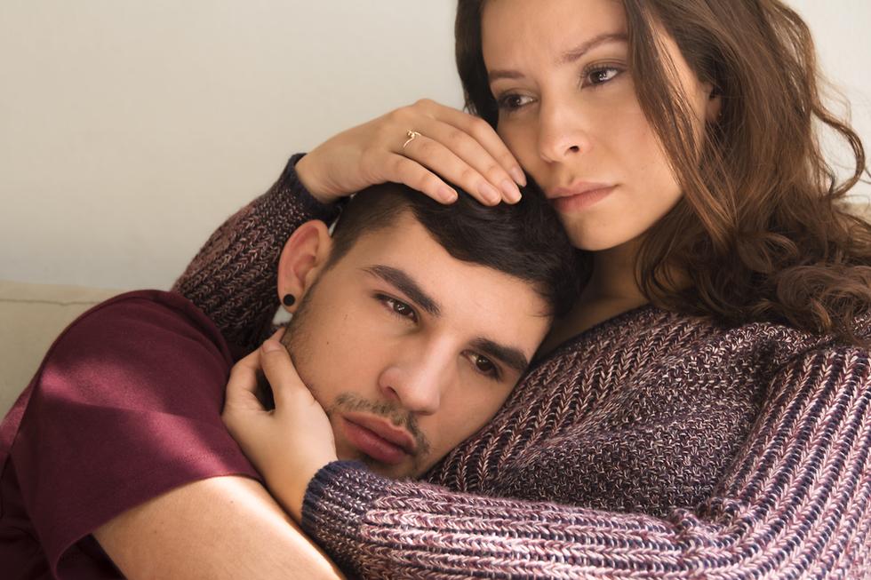זוג חווה קונפליקט זוגי (צילום: Shutterstock)