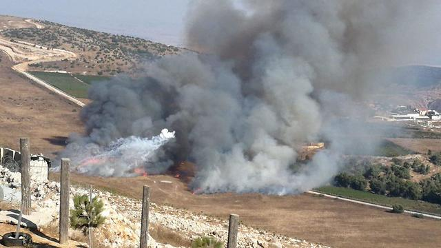 ירי  הר דב ירי נט גבול לבנון אביבים מארון א ראס  ()