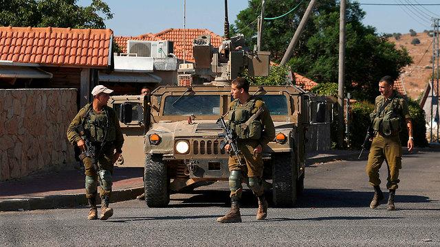 Israeli forces near the Israel Lebanon border  (Photo: AFP)