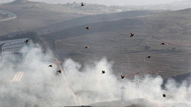 IDF shelling southern Lebanon (Photo: Reuters)