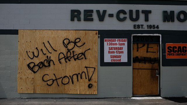הוריקן דוריאן  (צילום: EPA)