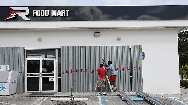 הוריקן דוריאן  (צילום: AFP)