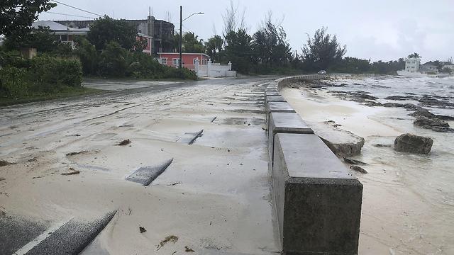 איי בהאמה סופה הוריקן דוריאן (צילום: AFP)