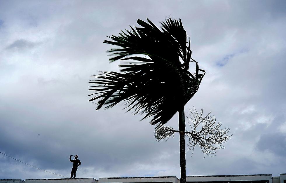 איי בהאמה סופה הוריקן דוריאן (צילום: AP)