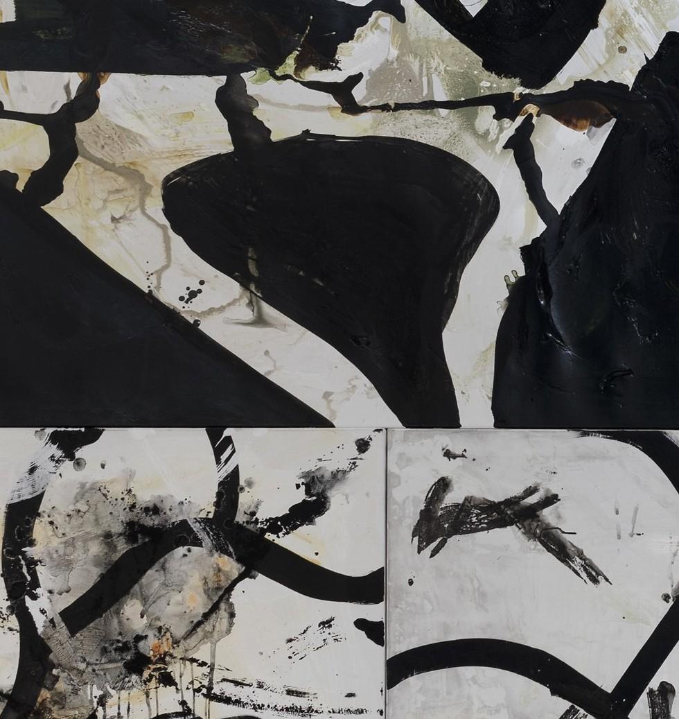 ציבי גבע, פרט מתוך מיצב 'הרעש השביר' , 2019  ()