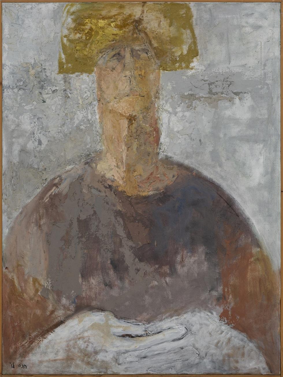 חנה לוי, דיוקן פאולה, 1991 ()