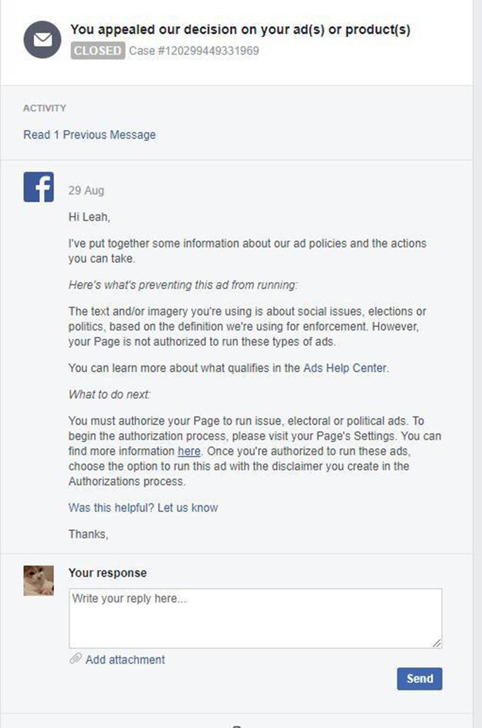 התשובה של פייסבוק ()
