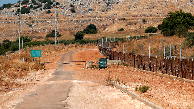 The Israel-Lebanon border a day after Hezbollah attacked IDF troops (Photo: EPA)