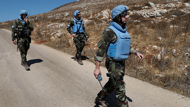 UNIFIL forces along the Israel-Lebanon border (Photo: AP)