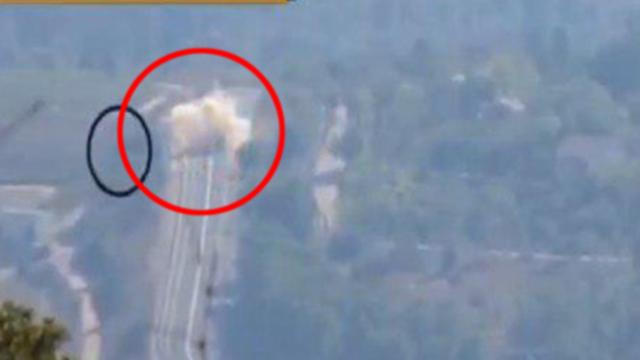 תיעוד של חיזבאללה מהתקיפה בגבול לבנון ()